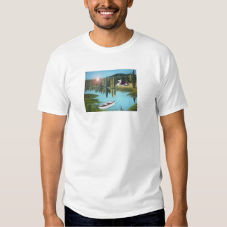 at the lake at sunrise T-Shirt