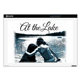 At the Lake. Laptop Skin