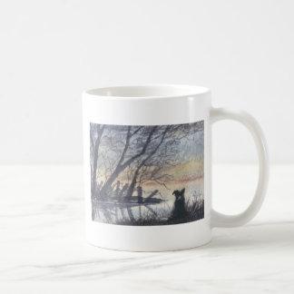 At the lake coffee mugs