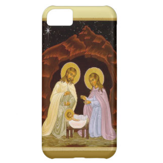 At the manger iPhone 5C cover