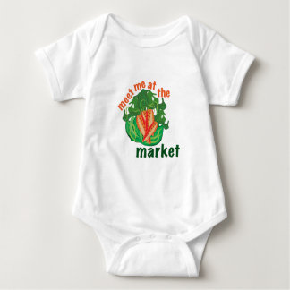 At The Market Baby Bodysuit