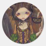 At the Masquerade Ball gothic Sticker