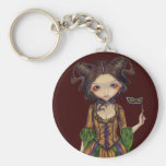 """At the Masquerade Ball"" Keychain"