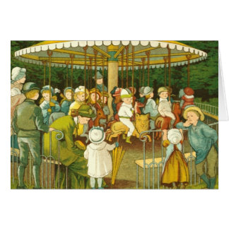 At The Merry Go Round Cards