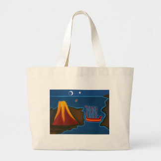 At the Messina Strait 2006 Large Tote Bag