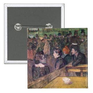 At the Moulin de la Galette, 1899 Pinback Button