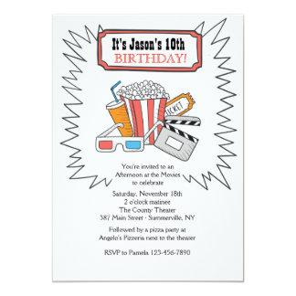 At The Movies Invitation