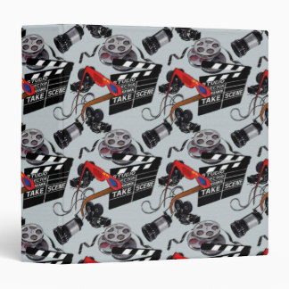 At The Movies Notebook 3 Ring Binder