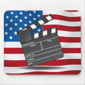 At The Movies -USA Mouse Pad