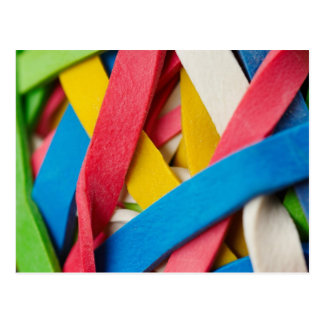 At The Office Rubber Band Stuff Post Card