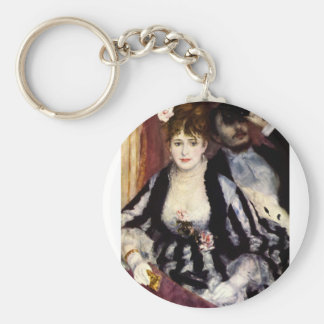 At the Opera Basic Round Button Keychain