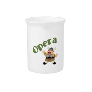 At The Opera Beverage Pitchers