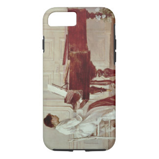 At the Piano, 1887 (oil on canvas) iPhone 7 Case