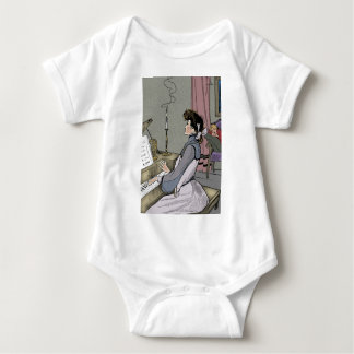 At the Piano Baby Bodysuit
