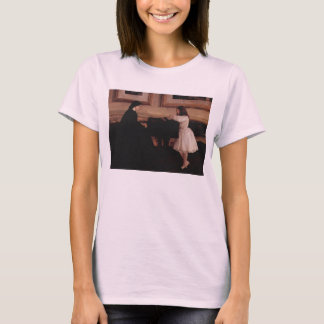 At the piano by James Abbott McNeill Whistler T-Shirt