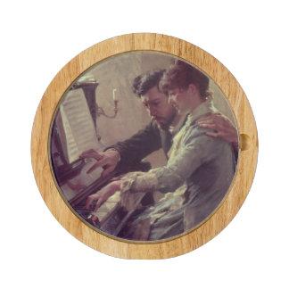 At the Piano Cheese Board