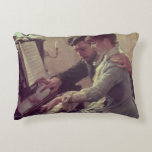 At the Piano Decorative Pillow