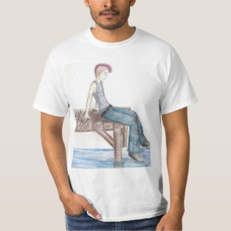 """""""At The Pier""""  Value T-Shirt"""