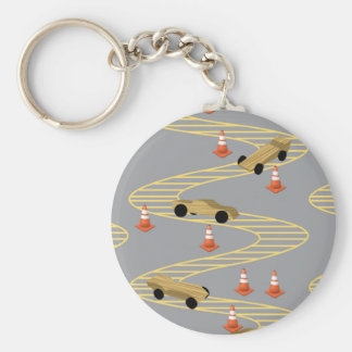 At The Pinecar Derby Keychain