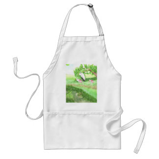 At the Pond Adult Apron