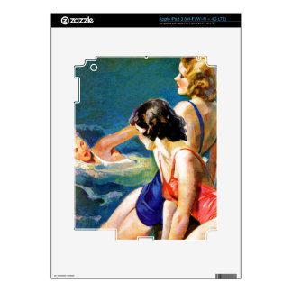 At the Pool iPad 3 Decal