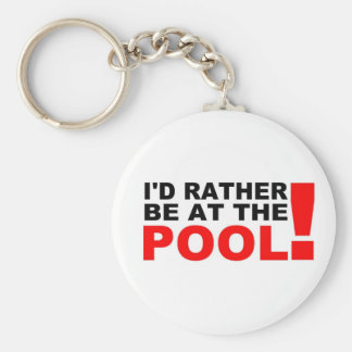 At the pool keychain