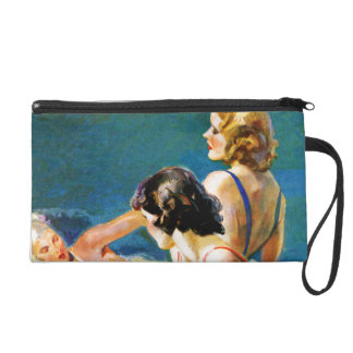 At the Pool Wristlet Purses