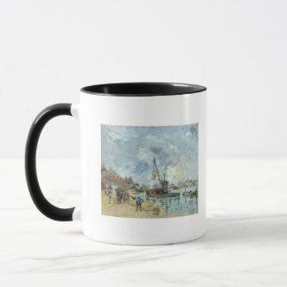 At the Quay de Bercy in Paris, 1874 Mug