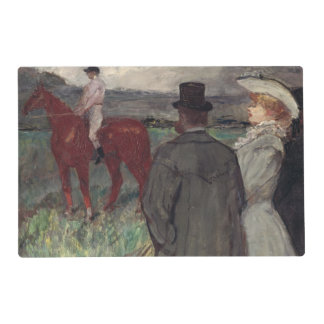 At the Racecourse, 1899 Laminated Placemat