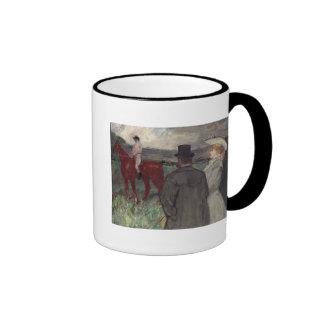 At the Racecourse, 1899 Ringer Mug