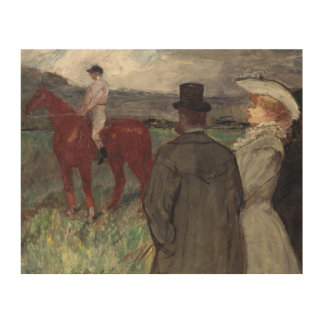 At the Racecourse, 1899 Wood Wall Decor