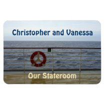 At the Railing Stateroom Door Marker Magnet