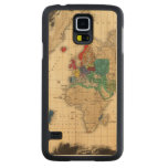 At The Restoration of The Stuarts 1660 AD Carved® Maple Galaxy S5 Slim Case