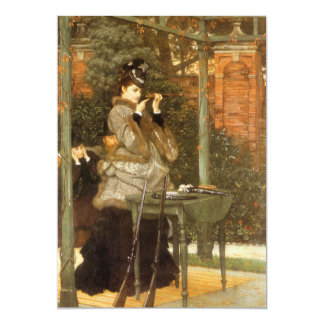 At the Rifle Range by James Tissot 5x7 Paper Invitation Card