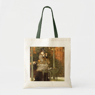 At the Rifle Range by James Tissot Tote Bag