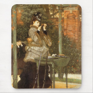 At the Rifle Range by James Tissot, Vintage Art Mouse Pad