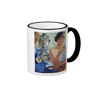 At the Samovar, 1926 Ringer Coffee Mug