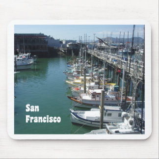 At the San Francisco Docks Mouse Pad