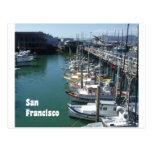 At the San Francisco Docks Postcard