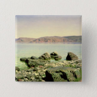 At the Sea of Galilee, 1888 Pinback Button