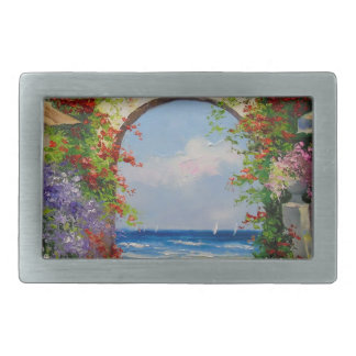 At the sea shore belt buckle