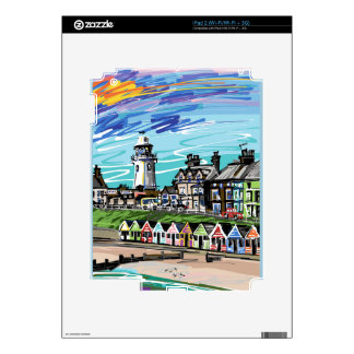 At the Seaside Skin For The iPad 2