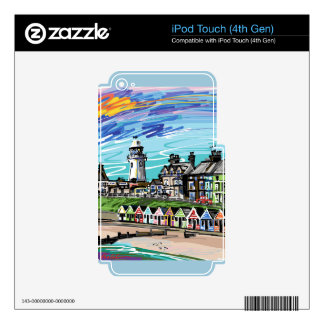 At the Seaside Skins For iPod Touch 4G