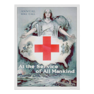 At the Service of All Mankind (US00262) Posters