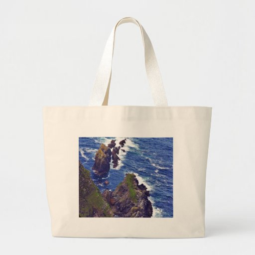 At The Slieve League Cliffs In Ireland 3 Bags