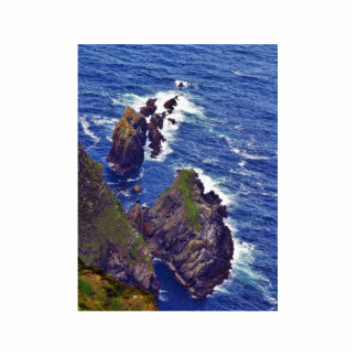 At The Slieve League Cliffs In Ireland 3 Photo Cutouts