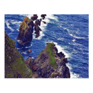 At The Slieve League Cliffs In Ireland 3 Postcard
