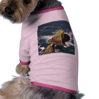 At The Slieve League Cliffs In Ireland Dog T Shirt