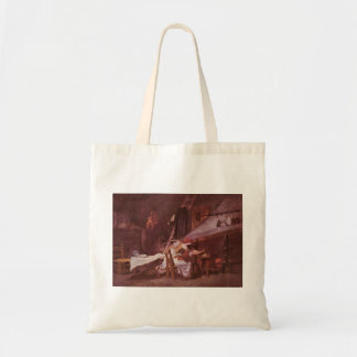 At the stove by Jean-Honore Fragonard Canvas Bag