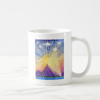 At the Summit Classic White Coffee Mug